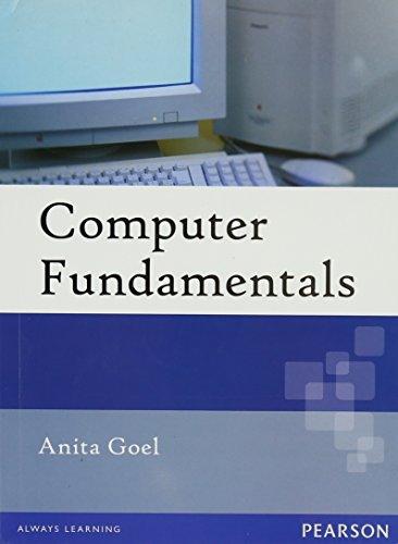 Computer Fundamentals: Anita Goel