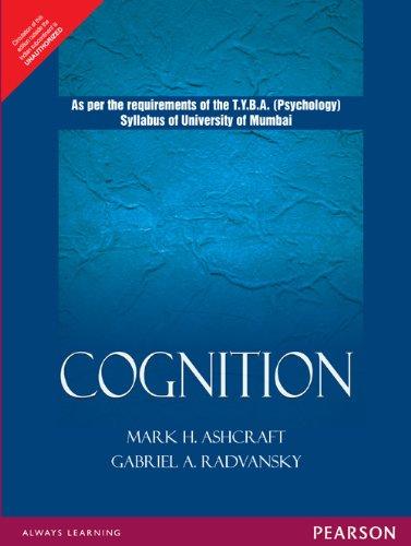 9788131733219: Cognition