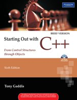 9788131734377: Starting Out with C++ Brief: From Control Structures through Objects