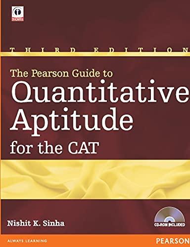 9788131734469: PEARSON GUIDE TO QUANTITATIVE APTITUDE FOR THE CAT 3ED