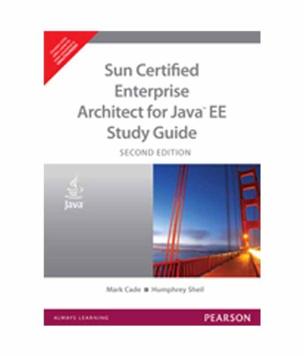 9788131734681: Sun Certified Enterprise Architect for Java EE Study Guide(Second edition)