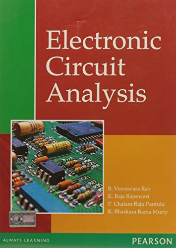 Electronic Circuit Analysis: Rao, B. Visvesvara;