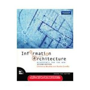 9788131755006: Information Architecture: Blueprints For The Web, 2e