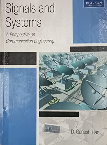 9788131755976: Signals & Systems: A Perspective towards Communication Systems ( For JNTU)