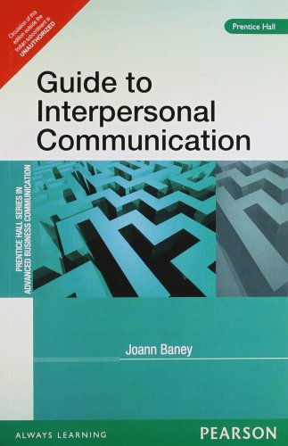 9788131756126: GUIDE TO INTERPERSONAL COMMUNICATION