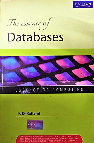 9788131756768: The Essence of Databases