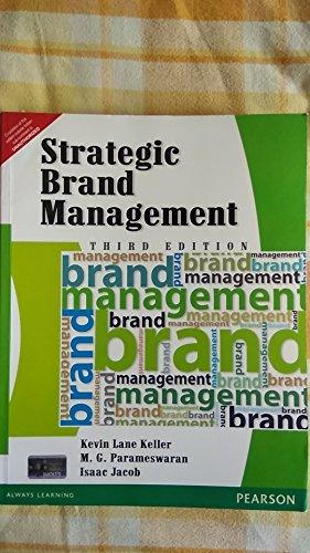 9788131756898: Strategic Brand Management