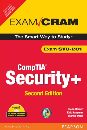 CompTIA Security+ Exam Cram: Diane Barrett,Kirk Hausman,Martin Weiss
