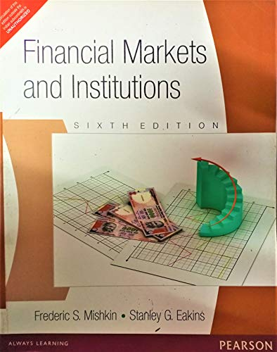 9788131759356: Financial Markets and Institutions