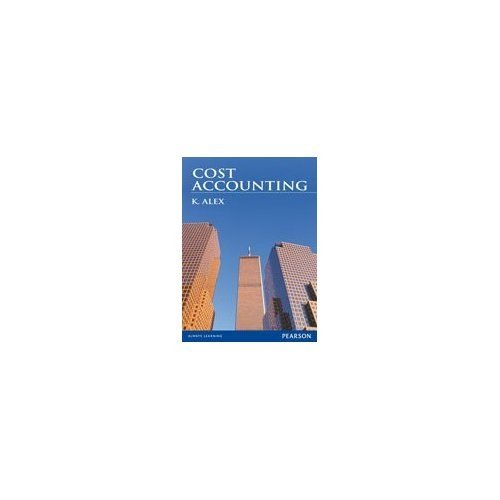 9788131759462: Cost Accounting