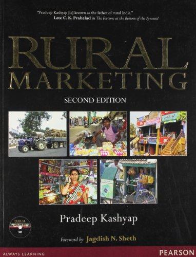 9788131760352: Rural Marketing