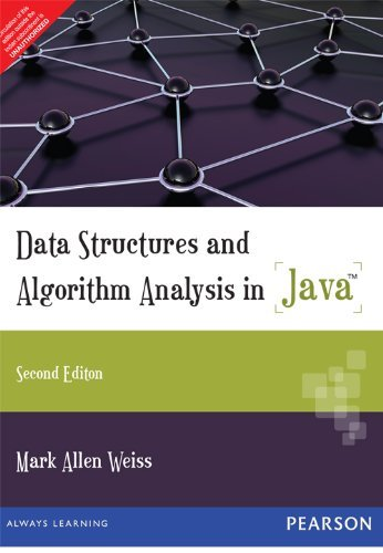 9788131760635 - WEISS: DATA STRUCTURES AND ALGO ANLYS IN JAVA - كتاب