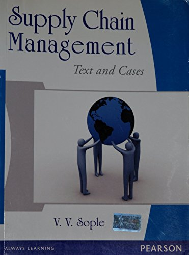 Supply Chain Management: Text and Cases: Vinod V. Sople