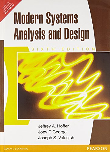 9788131761410: Modern Systems Analysis and Design (Sixth Edition)