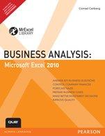 9788131762097: Business Analysis:Microsoft Excel 2010,Carlberg