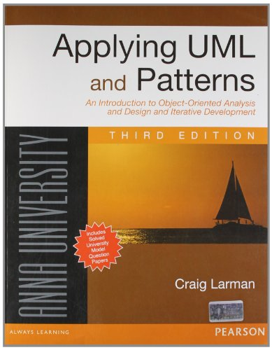 9788131762363: APPLYING UML AND PATTERNS : AN INTRODUCTION TO OBJECT-ORIENTED ANALYSIS AND DESIGN AND ITERATIVE DEVELOPMENT