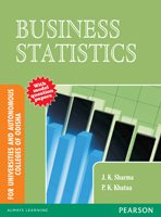 9788131763773: BUSINESS STATISTICS : FOR UNIVERSITIES AND AUTONOMOUS COLLEGES OF ODISHA