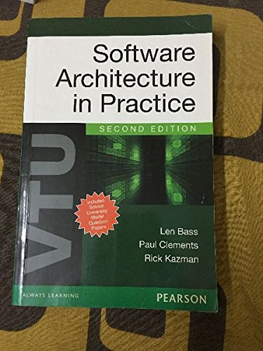 9788131764688: Software Architecture in Practice