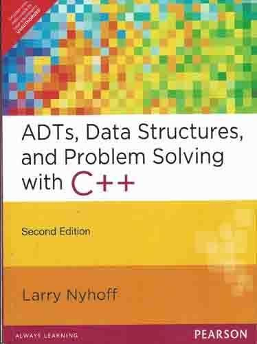 9788131764701: ADTs, Data Structures, and Problem Solving with C++