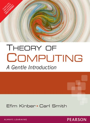 9788131766392: Theory Of Computing : A Gentle Introduction