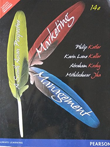 Marketing Management: A South Asian Perspective (Fourteenth: Abraham Koshy,Kevin Lane