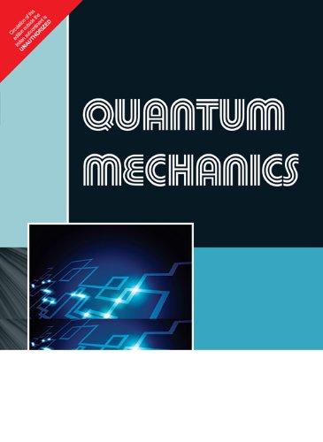 9788131767184: Quantum Mechanics