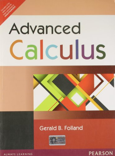 9788131768570: Advanced Calculus