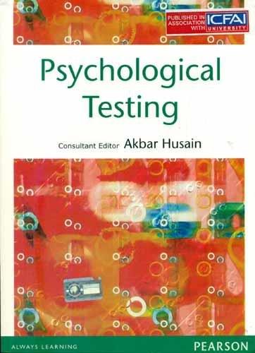 Psychological Testing: Akbar Husain