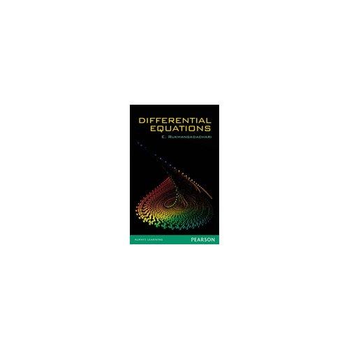 Differential Equations: E. Rukmangadachari