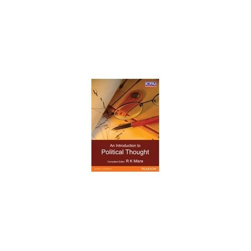 An Introduction to Political Thought: R.K. Misra (Ed.)