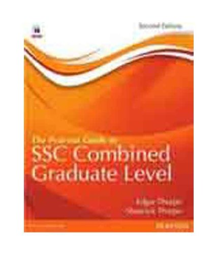 9788131774175: The Pearson Guide to SSC Combined Graduate Level