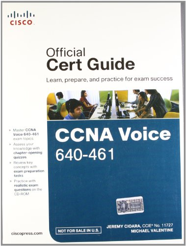 9788131786819: CCNA Voice 640-461 Official Cert Guide