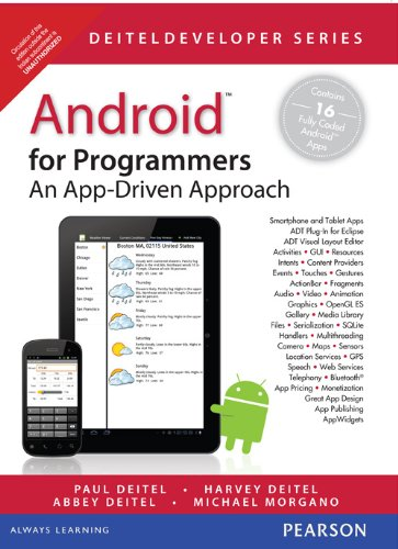 9788131786833: Android for Programmers: An App-Driven Approach