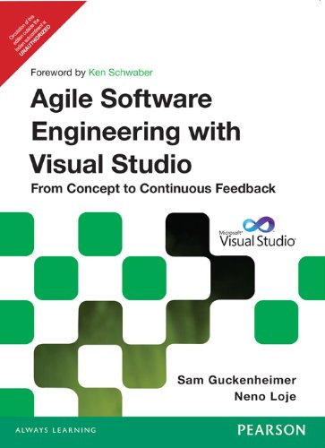 9788131786871: Agile Software Engineering with Visual Studio: From Concept to Continuous Feedback, 2/e