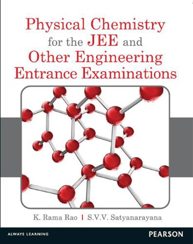 9788131787618: Physical Chemistry For The Jee And Other Engineering Entrance Examinations