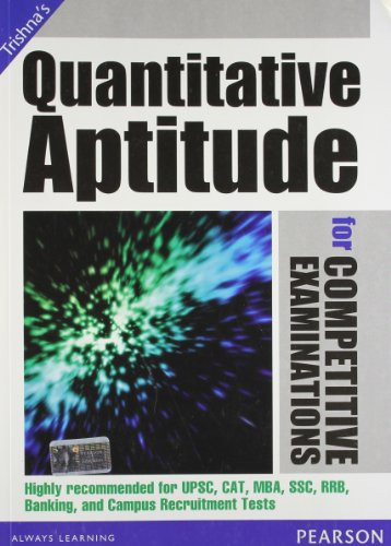Quantitative Aptitude for Competitive Examinations: Trishna Knowledge Systems