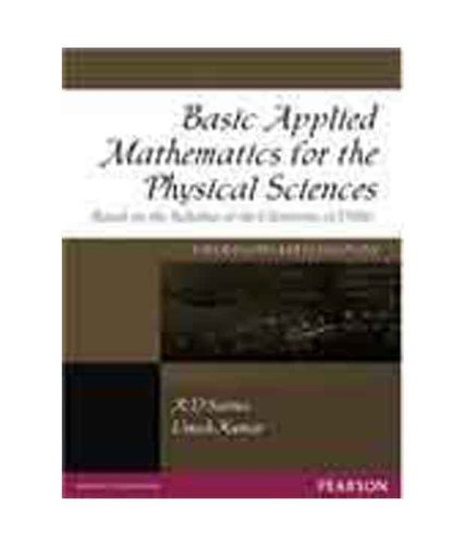 Basic Applied Mathematics For The Physical Sciences,