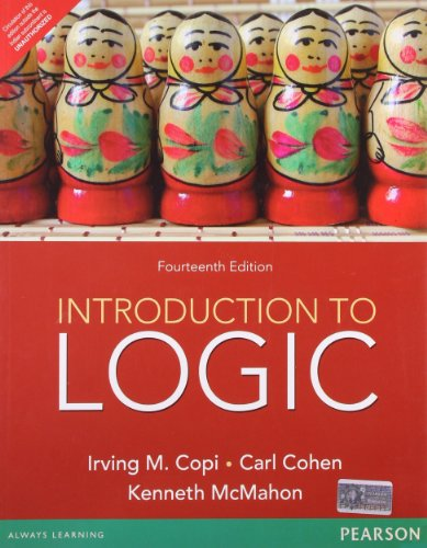 9788131788653: Introduction to Logic