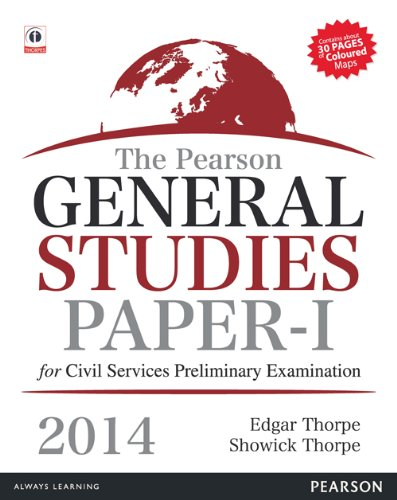 The Pearson General Studies Paper-I: for Civil Services Preliminary Examinations - 2014: Edgar ...