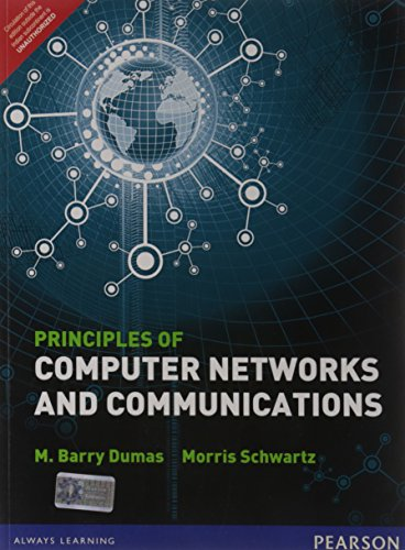 9788131790625: Principles of Computer Networks and Communications