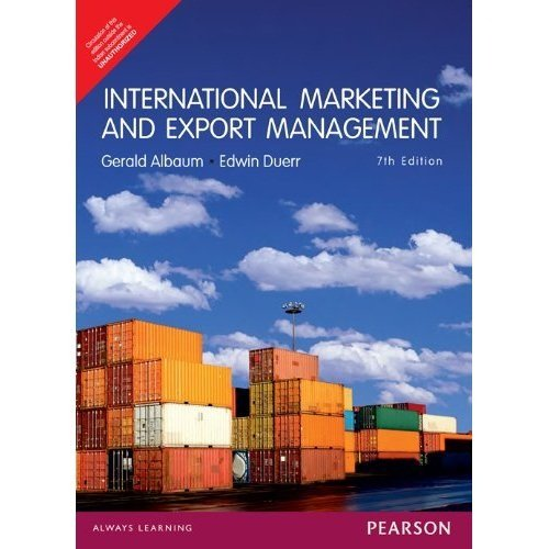 9788131791189: International Marketing And Export Management 7Th Edition
