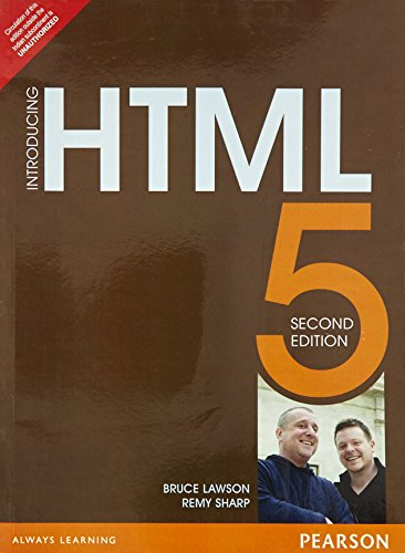 Introducing Html5, 2/E: Lawson, Sharp