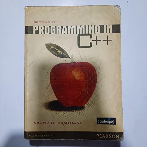 Programming In C++: Kamthane