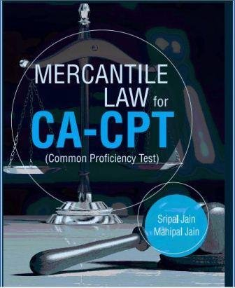 9788131799321: Mercantile Law for CA-CPT (Common Proficiency Test)