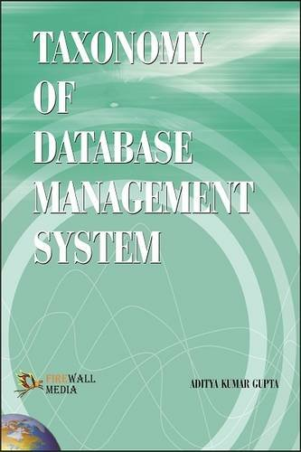 Taxonomy of Database Management System: Aditya Kumar Gupta