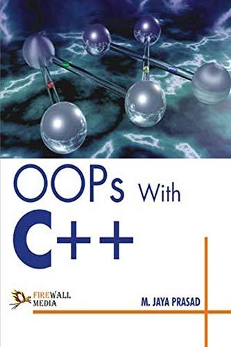 OOPs with C++: M. Jaya Prasad