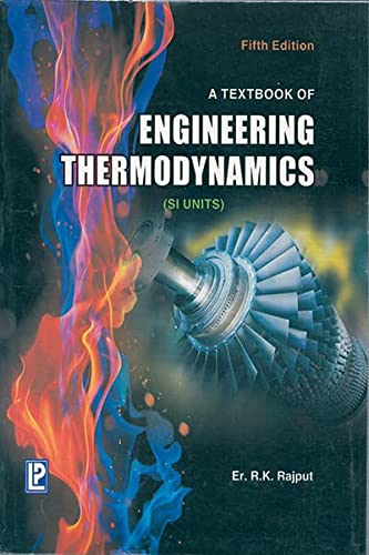 9788131800584: A Textbook of Engineering Thermodynamics