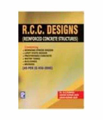 R.C.C. Designs (Paperback): Dr. B. C.