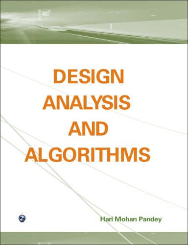 Design Analysis and Algorithms: Hari Mohan Pandey