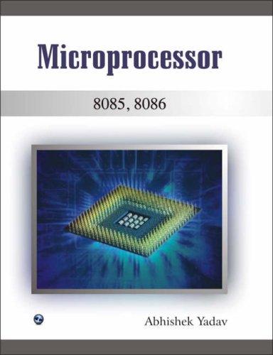 Microprocessor 8085, 8086: Abhishek Yadav
